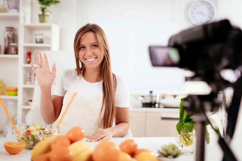 美食作者做视频